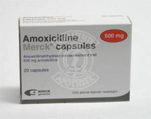 Amoxicilline 250mg 21 caps. - Medicatie voor Chlamydia