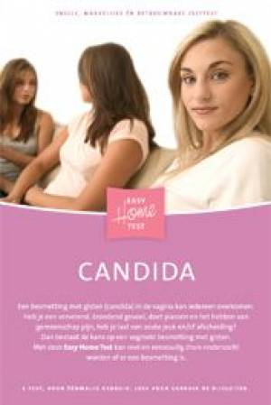 Afbeelding van de Candida Thuistest voor de SOA Candida.