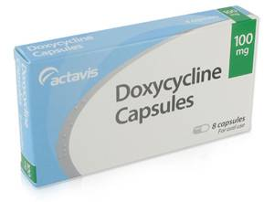 Doxycycline 100mg 8 caps. - Medicatie voor Syfilis