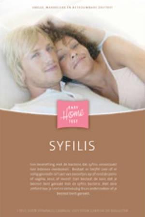 Afbeelding van de Syfilis thuistester (EasyHome) voor de SOA Syfilis.
