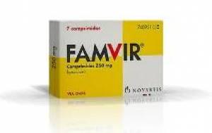 Afbeelding van de Famvir 500mg 14 tabl. voor de SOA Herpes.