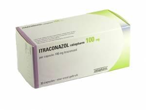 Afbeelding van de Sporanox (itraconazol) 10mg/ml 150 ml voor de SOA Candida.