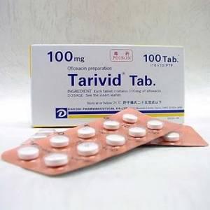 Afbeelding van de Tarivid 200 mg 14 tabl. voor de SOA Gonorroe.