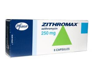 Zithromax 250 mg 4 capsules - Medicatie voor Chlamydia
